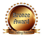 Sex-Dating-Reviews.com's Bronze Award